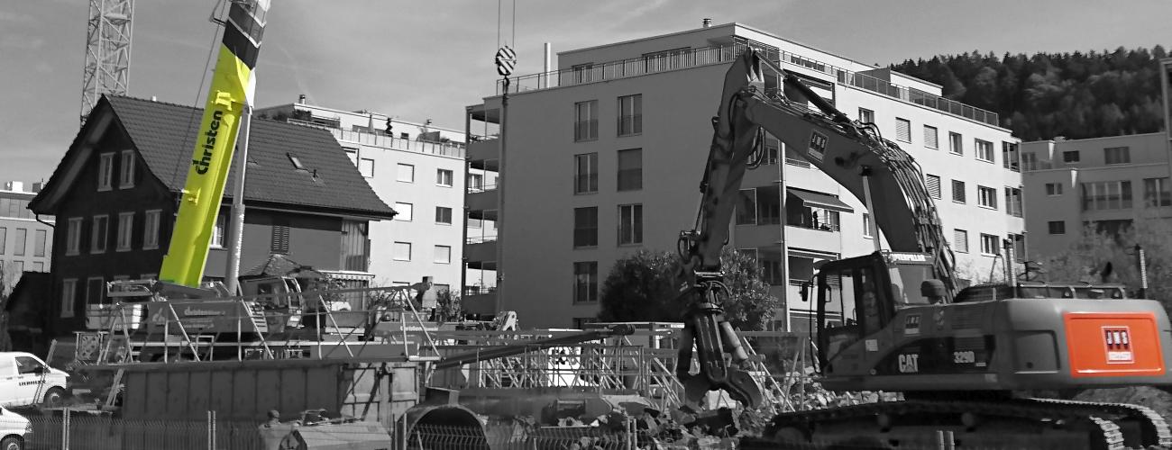 Baustellenlärm dBAkustik.ch Überwachung Baulärm