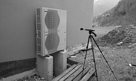 Lärmmessung Lärm Wärmepumpe Glarus.ch