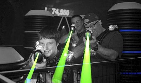 Lärmmessung Laser Arena Lasertag dBAkustik.ch